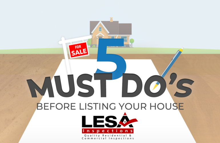5 Things TO DO Before Listing Your Home
