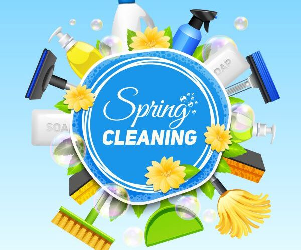 The Ultimate Spring Cleaning List….